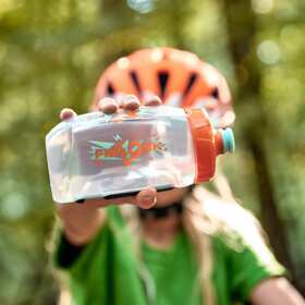 Fidlock Twist Bottle 450 incl. Bike Base Mount orange/blue